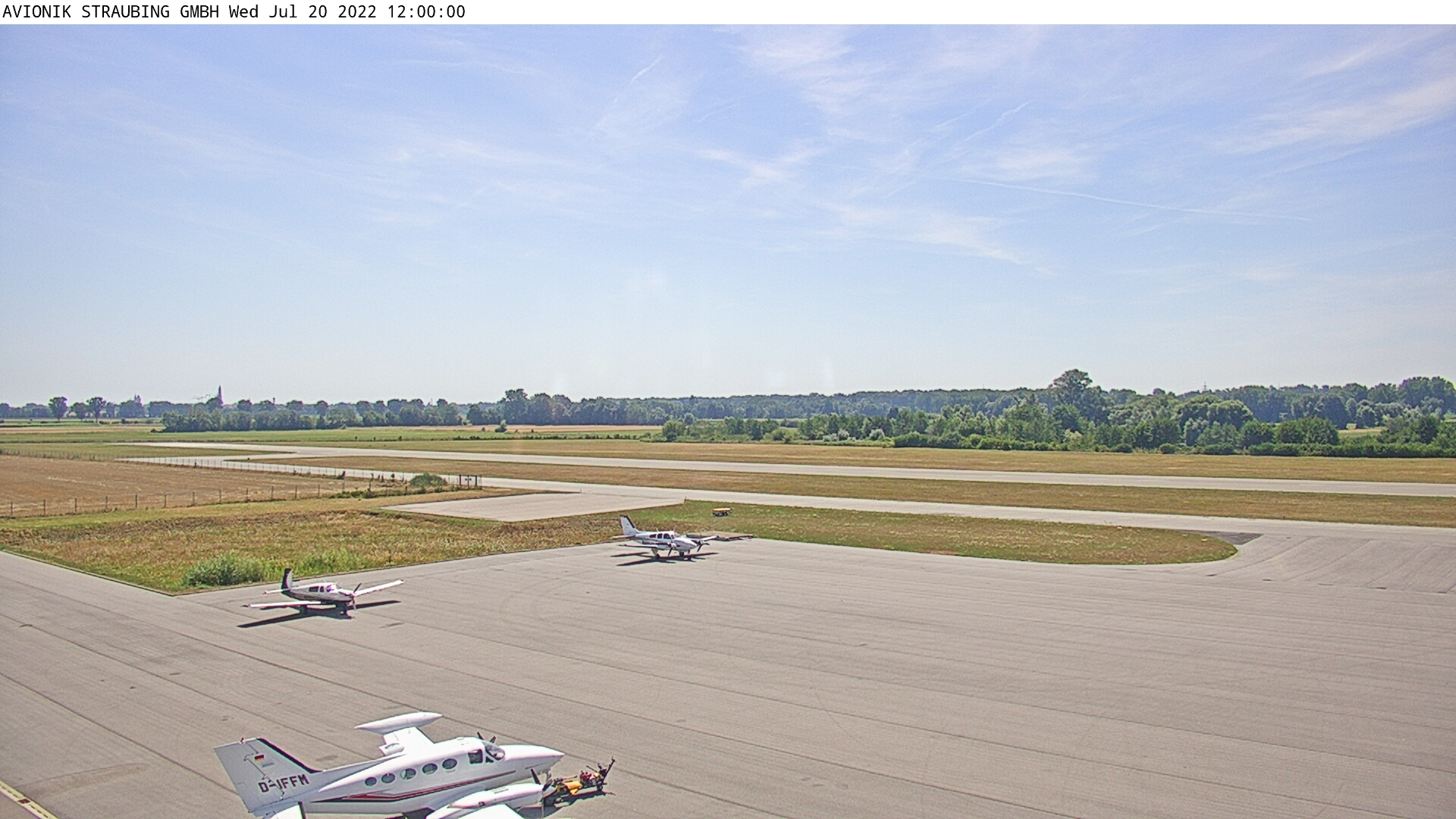 Webcam Flugplatz Straubing